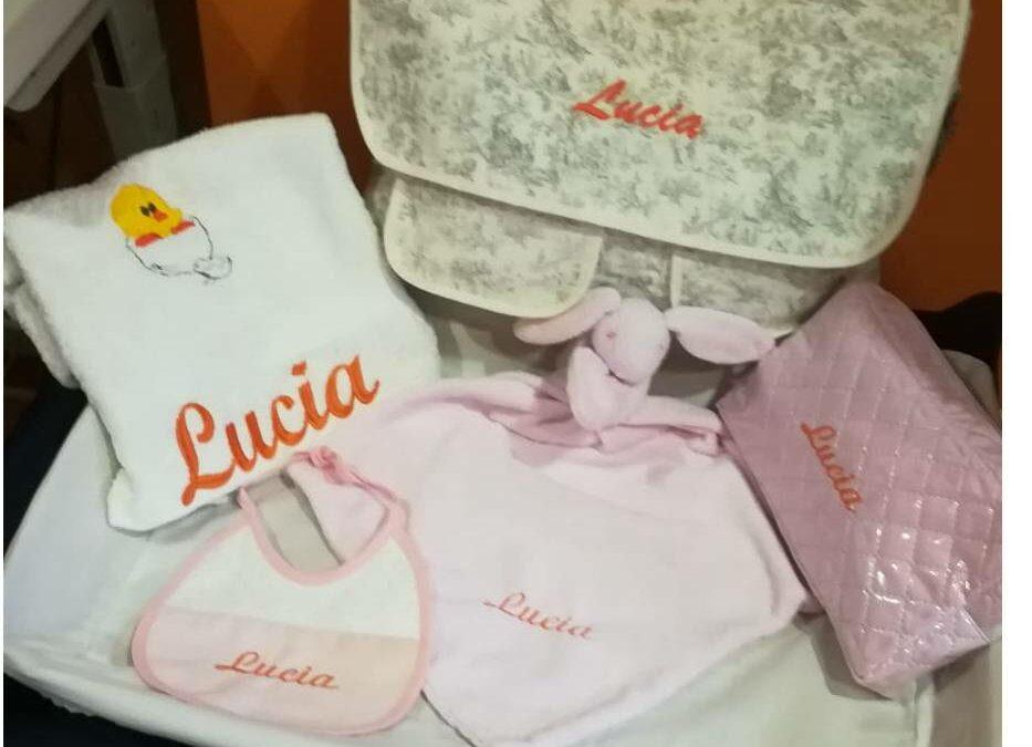 Regalos para bebé bordados y personalizados