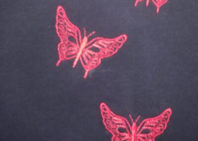 Bordado mariposa